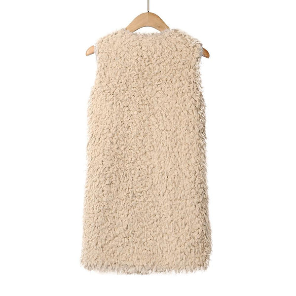 Joanna - Plush Faux Fur Vest