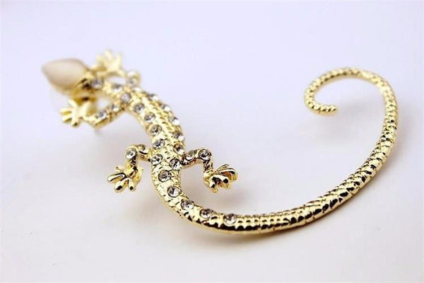 Gecko Wrap Stud Earrings