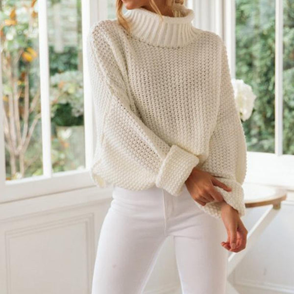 Ariella - Knitted Ribbed Sweater