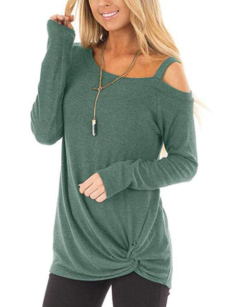 Mariana - Skew Neck Sweater