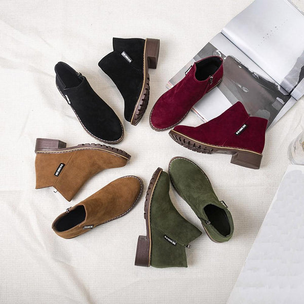 Wren - Casual Ankle Boots