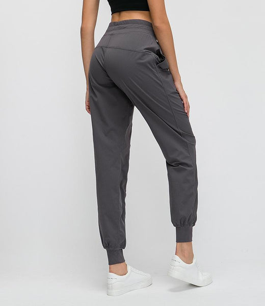 Cali - High Waist Harem Cuff Workout Pants