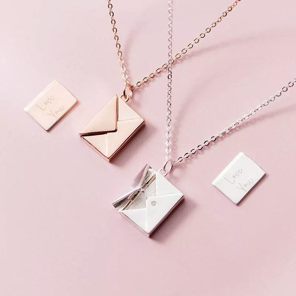 Serena - Love Letter Pendant Necklace