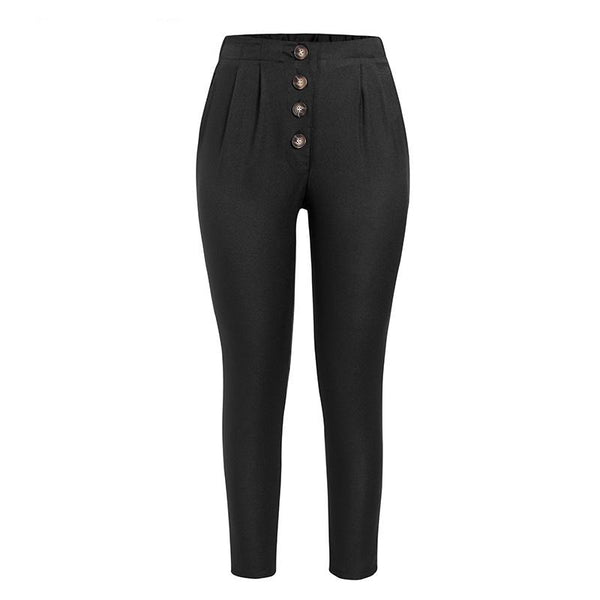 Peggy - Casual Loose High Waist Pants