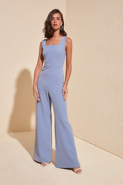 Charlette - Square Collar Jumpsuit