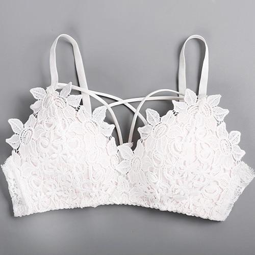 Lace Embroidered Bra