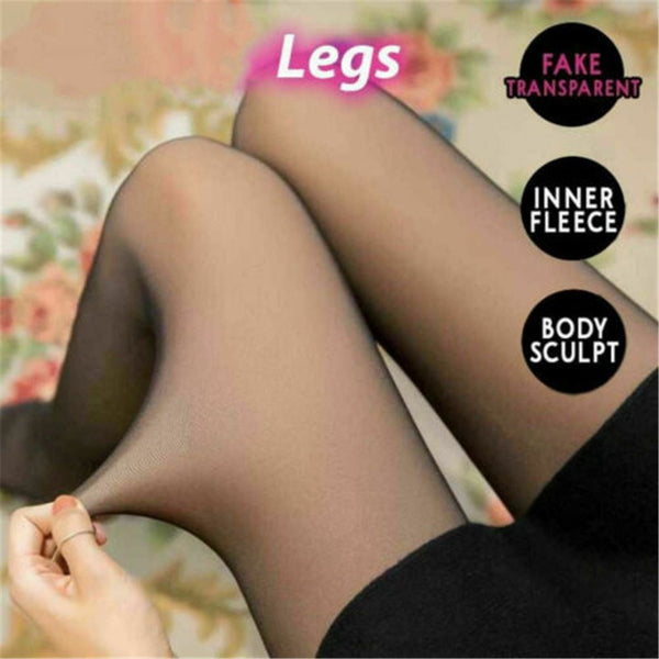 Translucent Fleece Stockings