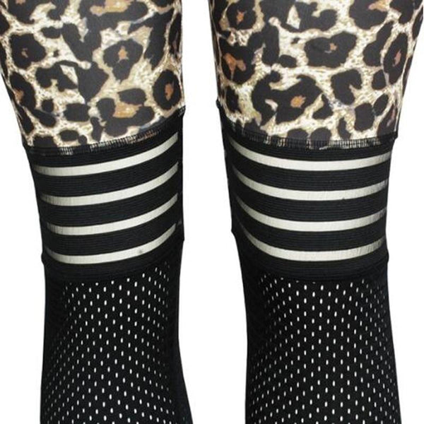Annalise - Leopard Mesh Leggings