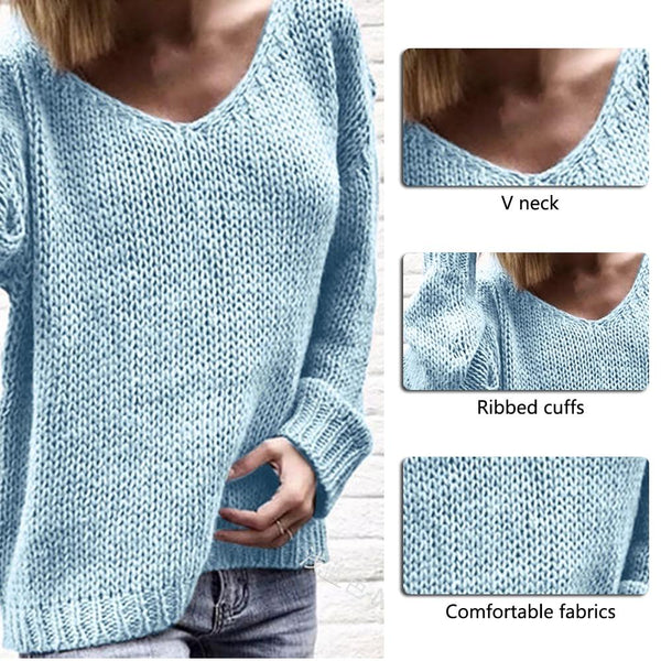 Marci - Loose Knitted Pullover