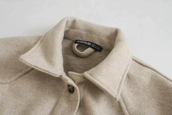 Winter Coat With Side Pockets