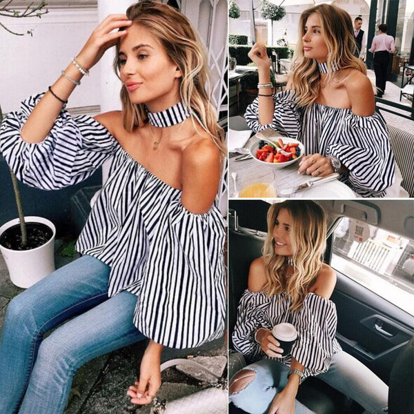 Castillian Striped Blouse