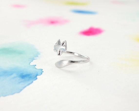 Fox Patronus Ring