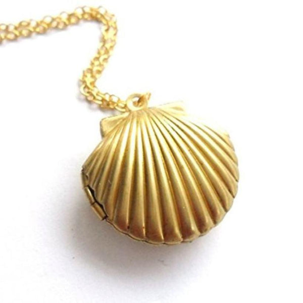 Mermaid Seashell Locket