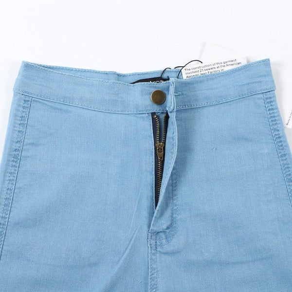 High Waist Pencil Denim Jeans