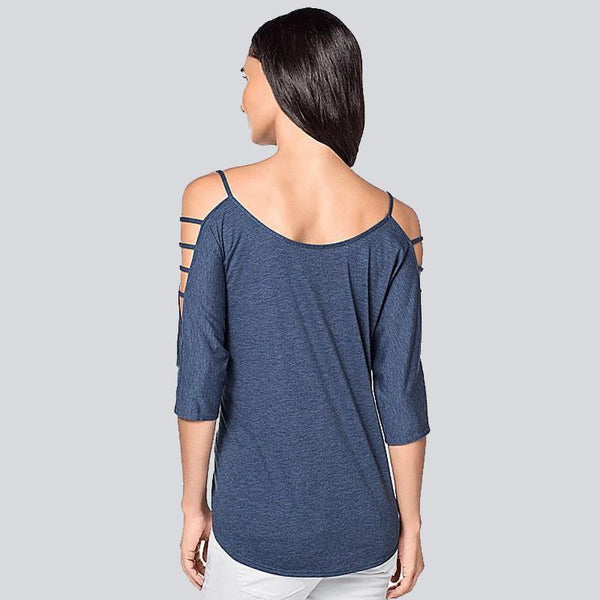 Lira - Venetian Cut-Out Blouse