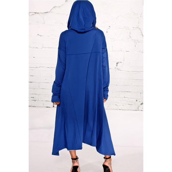 Willow - Oversized Asymmetrical Hooded Pullover