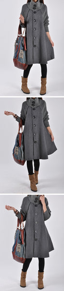 Lizzy - Woolen Winter Coat
