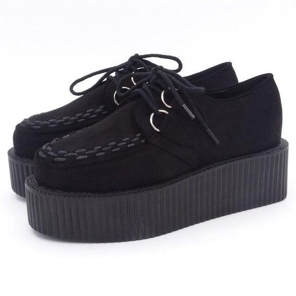 Avalon - Platform Lace Up Shoes
