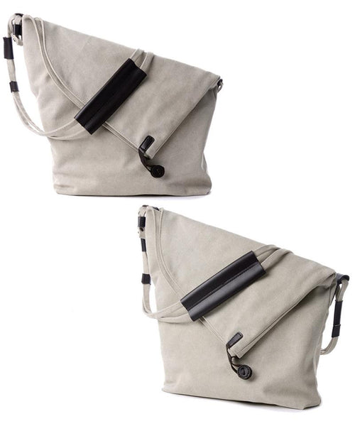 Canvas Messenger Shoulder Bag