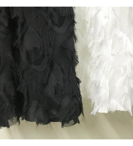 Marcy - High Waist Fluffy Tulle Skirt
