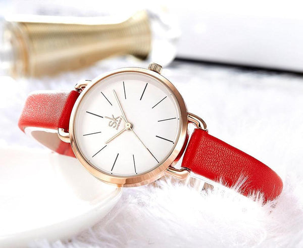 Simple Dial Retro Watch
