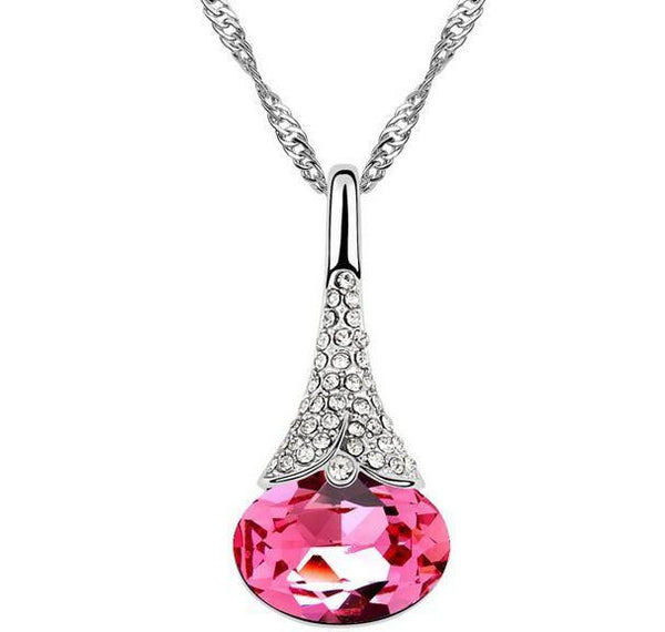 Crystal Droplet Pendant