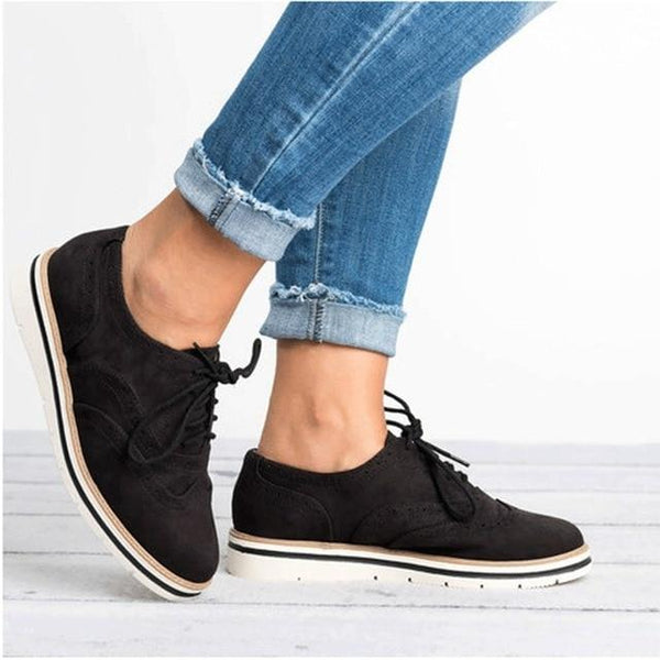 Lace Up Casual Oxford Loafers