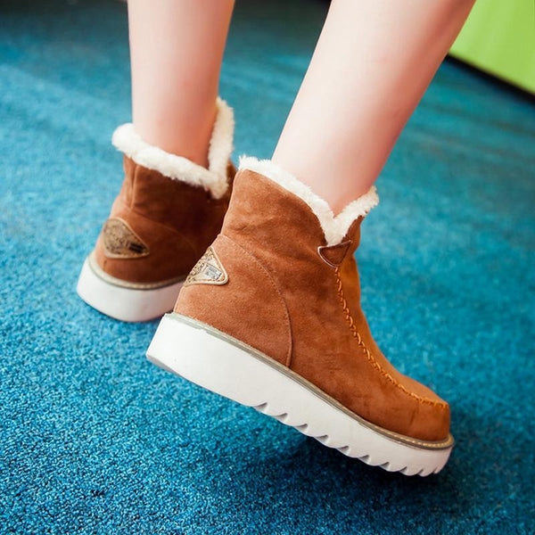 Pyrenees Fleece Ankle Boots