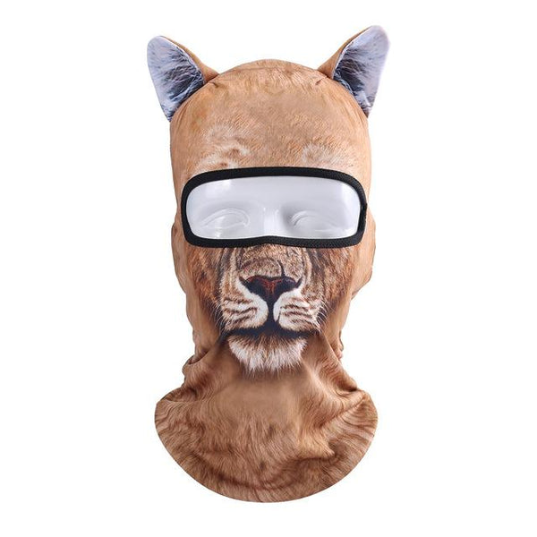 Animal Print Ski Masks
