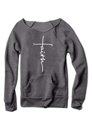 Faith Wide Neck Sweater
