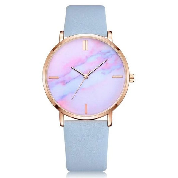 Cherish - Marble Face Watch
