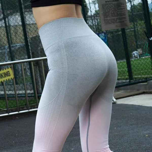 Seamless High Waist Workout Leggings