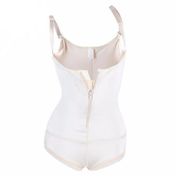 Abdera - Under Bust Zip Shapewear Body Suit