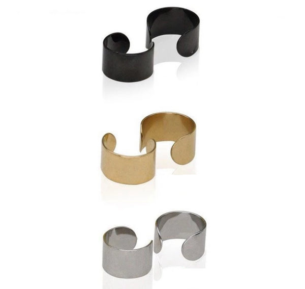 Teo - Wrap Fake Earring Cuff