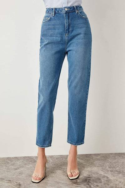 Savannah - High Waist Denim Jeans