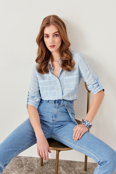 Antoinette - Pocket Collared Shirt