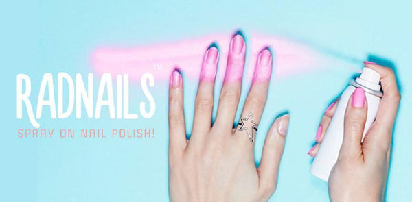 RadNails™ Spray-on Nail Polish