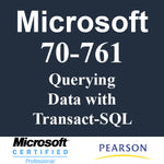 70-761 Querying Data with Transact-SQL