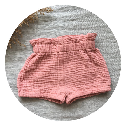 "Baby bloomers ""shorts"" pink"