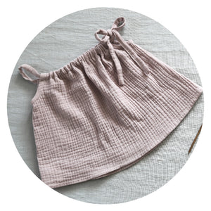 baby swing top in powder pink