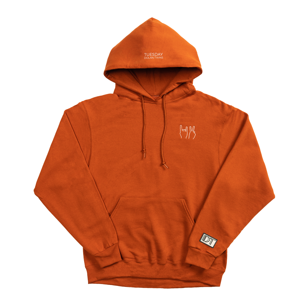 DT Hoodie (Orange) – Dolan Twins Official Store e945f814f1f61