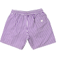 DT Board Shorts (Purple/ White)