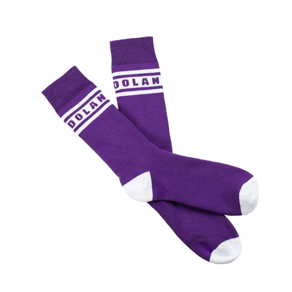 dt socks purple dolan twins official store