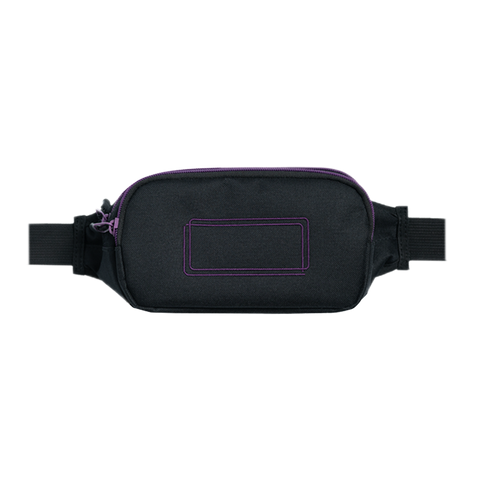 Rectangle Fanny Pack (Black)