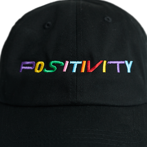 Positivity Hat - Black (Multi)