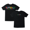 Spread Positivity T-Shirt (Black)