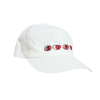 Icon Hat - White (Red)