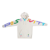 Spread Positivity Hoodie - Cream (Multi)