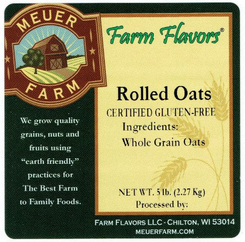 Rolled Oats - 5# Bag
