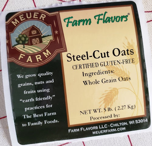 Steel Cut Oats - 5# Bag